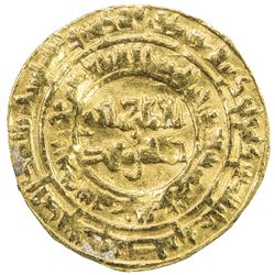 FATIMID: al-Mustansir, 1036-1094, AV dinar (4.03g), al-Mahdiya, AH463. VF