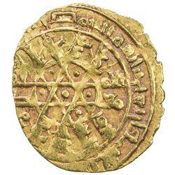 FATIMID: al-Mustansir, 1036-1094, AV 1/4 dinar (1.00g) (Siqilliya), AH443. EF