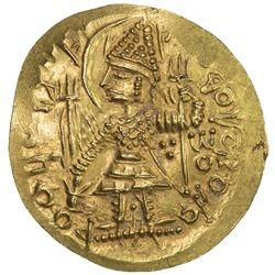 KUSHANO-SASANIAN: temp. Ardashir & Peroz I, ca. 230-270, AV dinar (8.00g). EF-AU