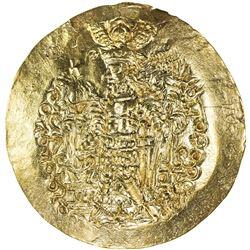 KUSHANO-SASANIAN: Varahran, ca. 325-350, AV scyphate stater (7.74g). AU