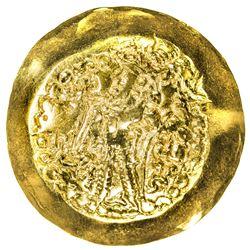 KIDARITE: Anonymous, circa 375-400 or slightly later, AV scyphate dinar (7.53g). EF