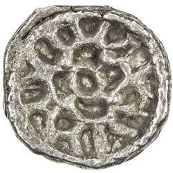 PAURAVAS of KAUSAMBI: Anonymous, ca. 500-300 BC, AR unit (1.93g). VF