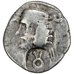 SAKAURACAE: unknown ruler, 1st century AD, AR drachm (2.94g). VF