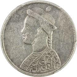 TIBET: AR rupee, ND (1902-11), horizontal rosette, PCGS EF Details