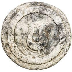 TENASSERIM-PEGU: Anonymous, 17th-18th century, lead weight (433g). VF