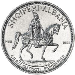 ALBANIA: Republic, 10 leke, 1968. UNC