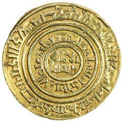 "CRUSADER KINGDOMS: AV bezant (3.89g), ""Misr"", AH""5xx"". VF"