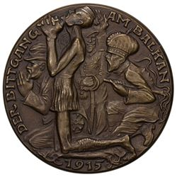 GERMANY: AE medal, 1915. EF
