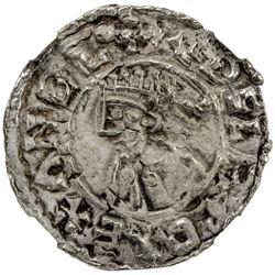 ENGLAND: Ethelred II, 978-1016, AR penny. NGC EF
