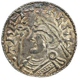 ENGLAND: Cnut, 1016-1035, AR penny (0.92g), ND (ca. 1029-1036). UNC