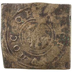 ENGLAND: Charles I, 1625-1649, AE halfpenny (7.06g), 1640. VG