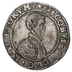SCOTLAND: James VI, 1567-1625, AR 5 shillings, 1594. F-VF