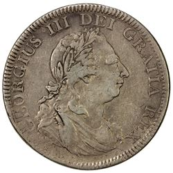 GREAT BRITAIN: George III, 1760-1820, AR dollar, 1804. VF