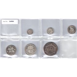 GREAT BRITAIN: George V, 1910-1936, 6-coin proof set, 1927. PF
