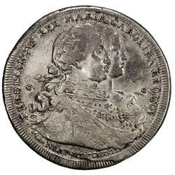NAPLES: Ferdinando IV, 1759-1816, AR 120 grana (piastra), 1772. F-VF