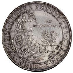NETHERLANDS: AR medal (36.43g), 1648. VF-EF