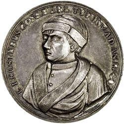 NETHERLANDS: AR medal (30.26g), 1740. EF