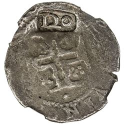 PORTUGAL: Joao IV, 1640-1656, AR 120 reis (7.54g), ND (1642). NGC F