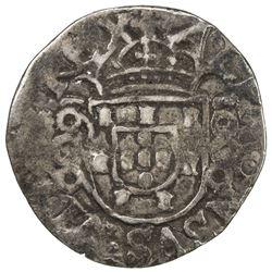 PORTUGAL: Alfonso VI, 1656-1683, AR 1/4 moeda (1000 reis) (1.81g), 1660. F