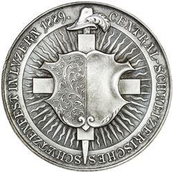 LUZERN: Canton, AR medal (38.70g), 1889. UNC