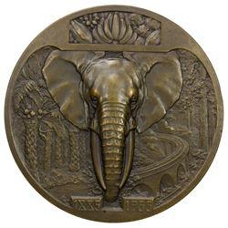 CONGO: AE medal (143.2g), 1935