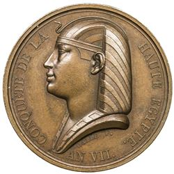 EGYPT: AE medal (19.94g), L'AN VII (1799). UNC
