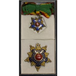 EGYPT:. EF, Order of the Republic, Class 1 with sash badge and breast star