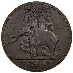 GOLD COAST: AE medal (50.07g), 1920-1921. UNC