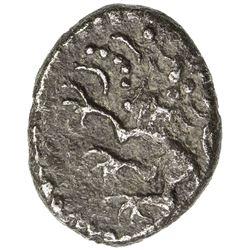 ST. HELENA: George I, 1714-1727, AR 3 pence (0.92g), 1714. VF