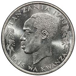 TANZANIA: Republic, 20 senti, 1966. PCGS SP