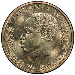 TANZANIA: Republic, 50 senti, 1973. PCGS SP