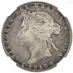 CANADA: Victoria, 1837-1901, AR 50 cents, 1894. NGC EF40