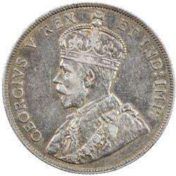 CANADA: George V, 1910-1936, AR 50 cents, 1911. VF