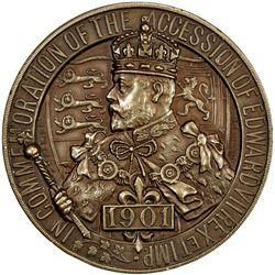 CANADA: AE medal, 1901. EF
