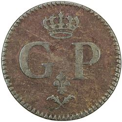 GUADELOUPE: AE token (5.42g). F