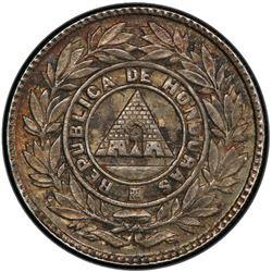 HONDURAS: Republic, AR 5 centavos, 1902. PCGS MS64