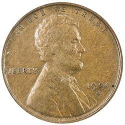 UNITED STATES: 1 cent, 1909-S VDB