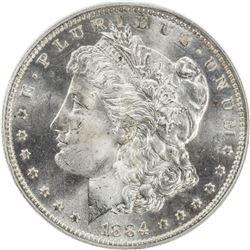 UNITED STATES: 1 dollar, 1884-O
