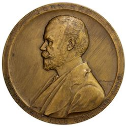 UNITED STATES: AE medal (162.1g), 1912. UNC