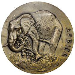UNITED STATES:AR medal (186.1g), 1943. AU