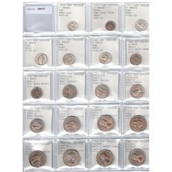 NEW ZEALAND: LOT of 39 high grade coins, retail value $550