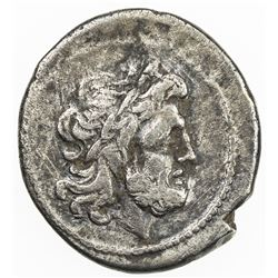 ROMAN REPUBLIC: Anonymous, AR victoriatus (2.29g), Rome. VF