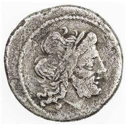 ROMAN REPUBLIC: Anonymous, AR victoriatus (2.58g), Rome. F