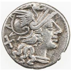 ROMAN REPUBLIC: P. Cornelius Sulla, AR denarius (3.22g), Rome. VF