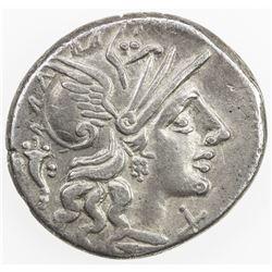 ROMAN REPUBLIC: L. Cupiennius, AR denarius (3.67g), Rome. VF