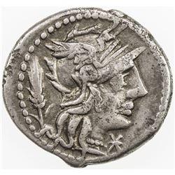 ROMAN REPUBLIC: Cn. Domitius Ahenobarbus, AR denarius (3.85g), Rome. F-VF