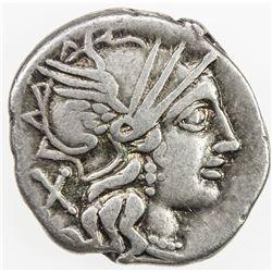 ROMAN REPUBLIC: C. Plutius, AR denarius (3.87g), Rome. F-VF