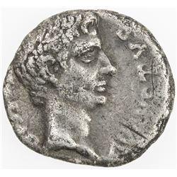 ROMAN EMPIRE: Augustus, 27 BC - 14 AD, AR denarius (3.33g), Rome. F-VF