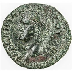 ROMAN EMPIRE: Agrippa, died 12 BC, AE as (10.51g), Rome. VF