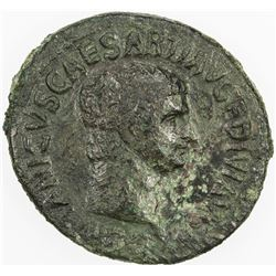 ROMAN EMPIRE: Germanicus, died 19 AD, AE as (12.13g), Rome. VF